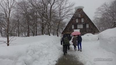 Snow in Hokuriku Hida: Shirakawago [Trip Day 2] 雪の北陸飛騨